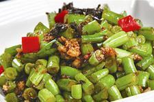 橄榄菜炒豆角的做法