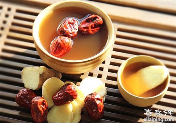 姜茶的做法