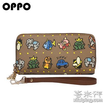 OPPO欧美小手拿包 女拉链钱包女钱夹小手包W0009-1
