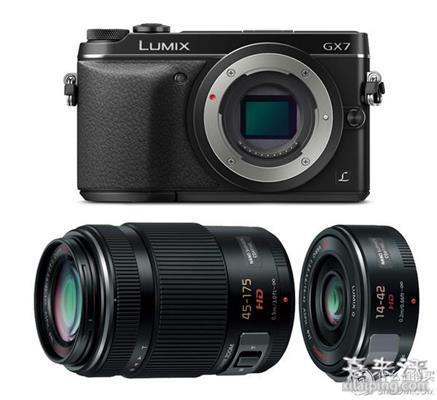 Panasonic 松下 Lumix DMC-GX7 双镜头套机套机(14-42mm+45-175mm、无低通、可翻转取景器)