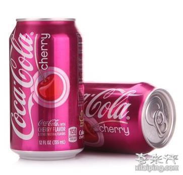 Coca Cola 可口可乐 樱桃/香草味 355ml*12听