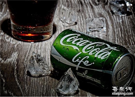 Coca Cola 可口可乐 Life 绿色版(无人工添加剂)*20听