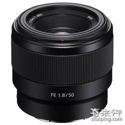 SONY 索尼 FE 50mm F1.8 标准定焦镜头