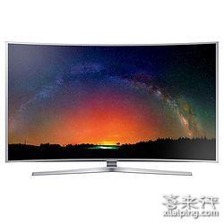 SAMSUNG 三星 UA65JS9800JXXZ 65英寸 4K 3D 量子点 曲面电视